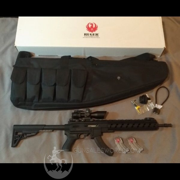 Ruger 1022 Tactical AR-22 Talo Exclusive