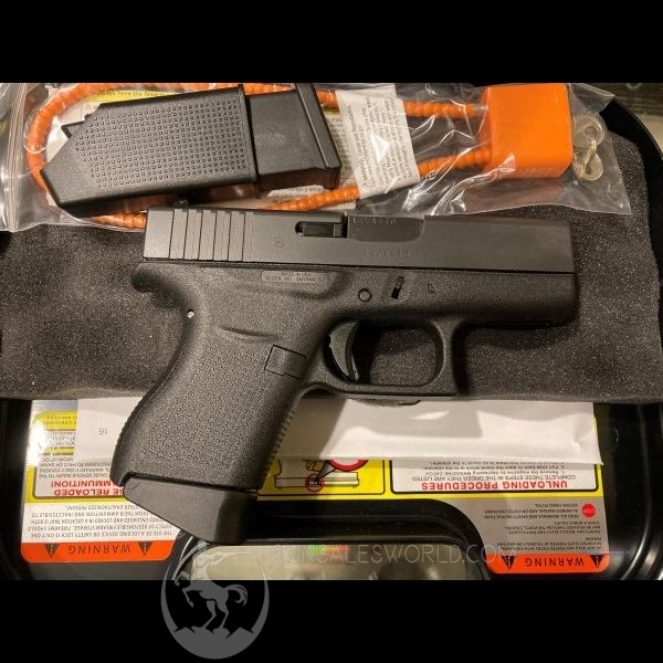 Glock 43 in 9mm G43 Smallest Glock 9mm