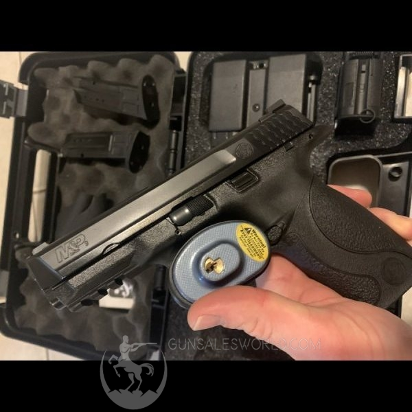 Smith and Weston m and p 9mm
