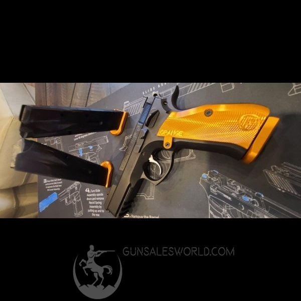 CZ SP-01 shadow Orange 9mm