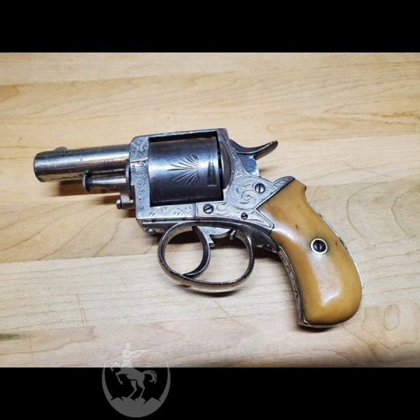 Antique british bulldog revolver