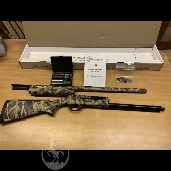 Weatherby 18i Waterfowler semi-auto 12ga